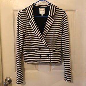 Striped Blazer - Sz M